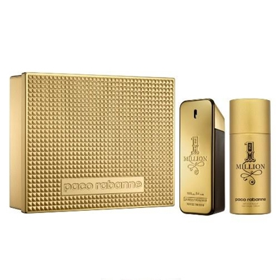 9a7947dca7 Kit 1 Million EDT 100ml + Desodorante 150ml Masculino Paco Rabanne - Loja  Paris Elegancia